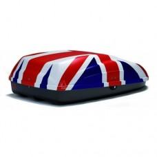 Μπαγκαζιέρα Οροφής G3 Krono 320 lt - UK flag 132x72x37cm