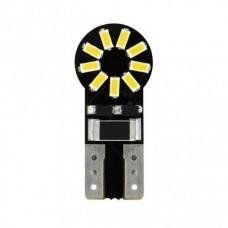 T10 W5W 12V W2,1X9,5D 180LM HYPER-LED 18 Λευκό (Διπλής Πολικότητας-Καρφωτό Can-Bus) (2 τεμ.)