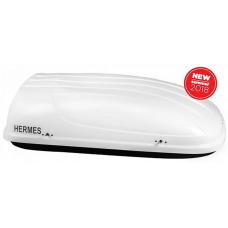 """Μπαγκαζιέρα Οροφής Hermes """"Oyster"""" / 400 lt - Λευκή Γυαλιστερή 160x80x40cm"""